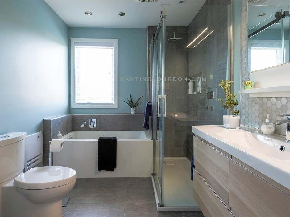 espace optimise pour une salle de bain