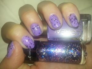 Purple Polka