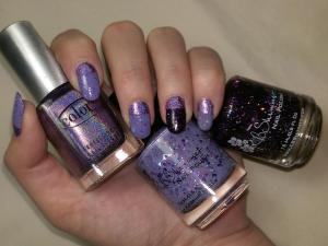 Dipped Purple