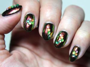 Copper and Gemstone