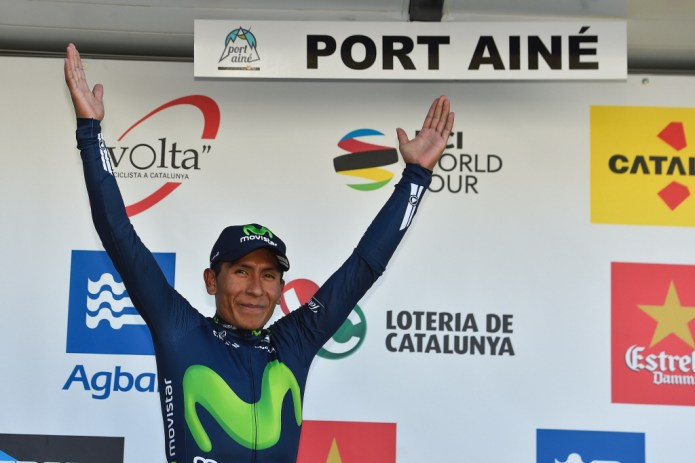 Nairo Quintana nieuwe leider Ronde van Catalonië