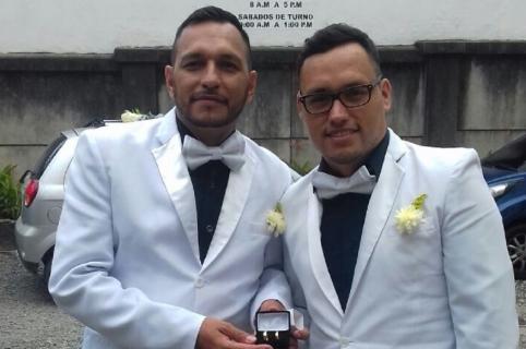 Eerste homohuwelijk in Colombia is een feit