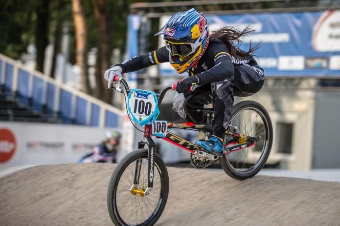 Mariana Pajón pakt brons in Medellin