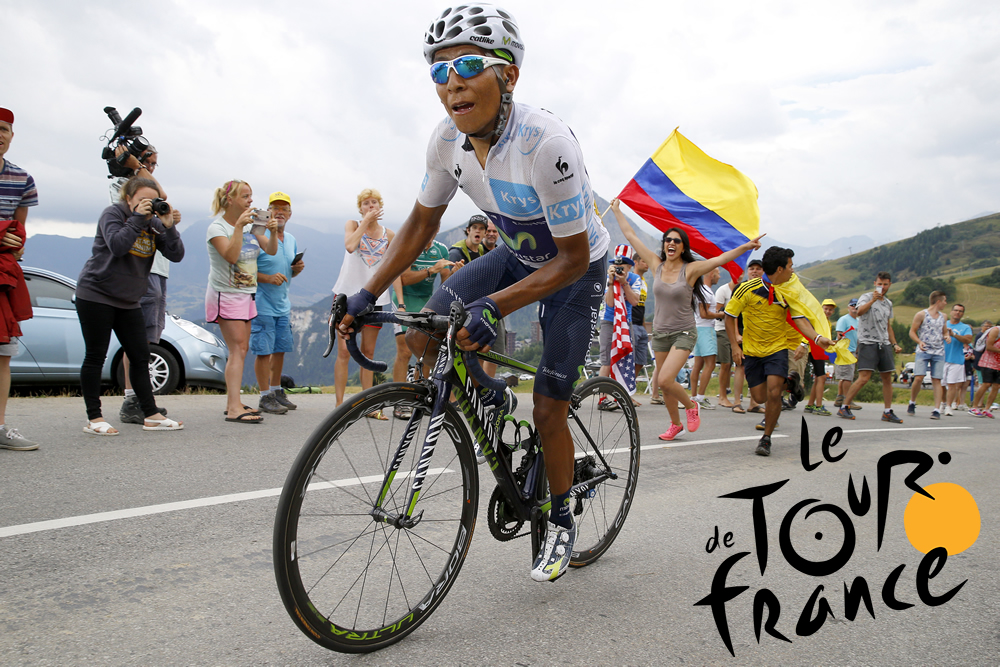 Zeven Colombianen in Tour de France 2017