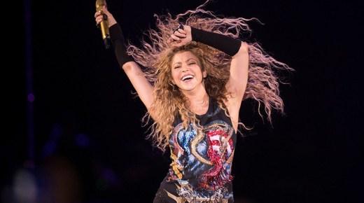 Shakira sluit haar El Dorado wereldtournee af in Colombia