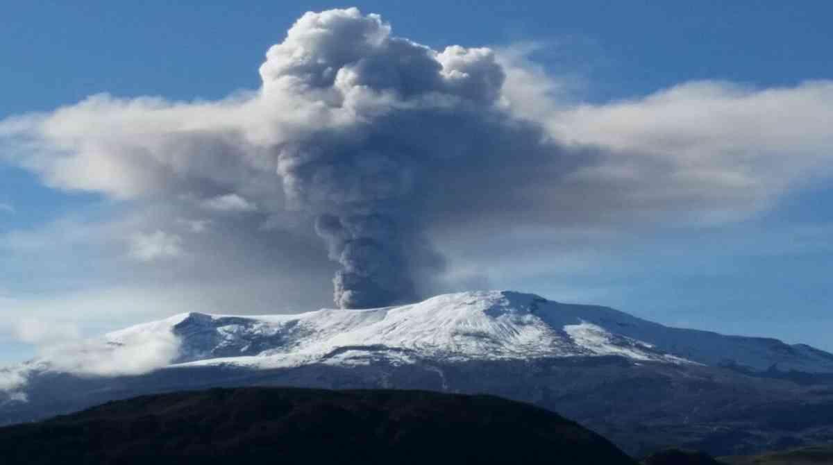 Waarschuwing voor activiteit vulkaan Nevado del Ruiz