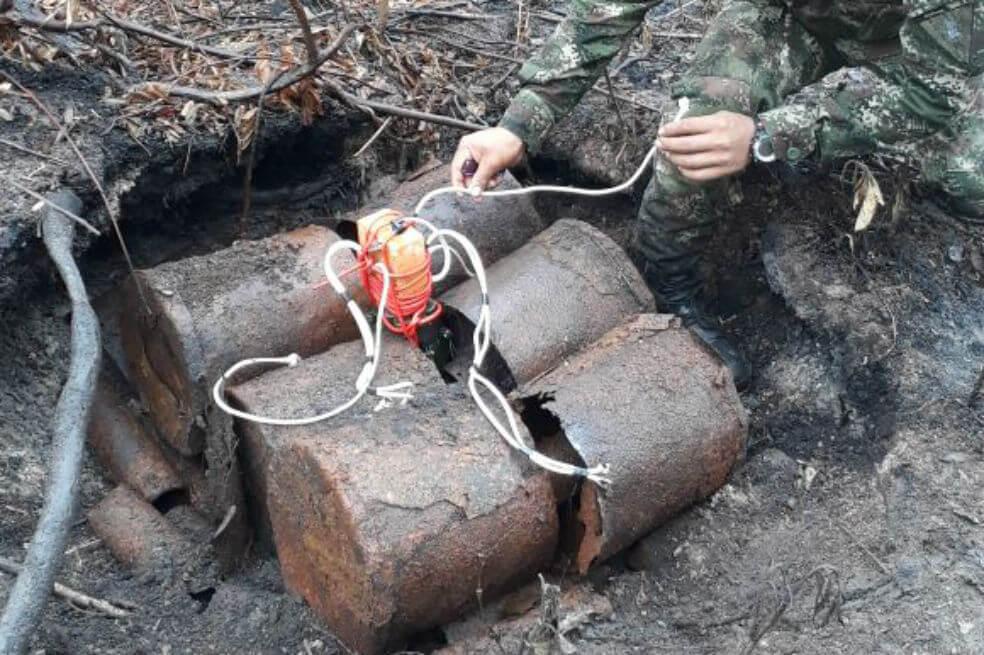 Elf soldaten in Arauca gewond door aanslag ELN