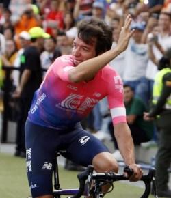 Team van Rigoberto Uran wint ploegentijdrit Tour Colombia 2.1