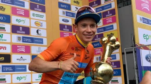 """Quintana wint zesde etappe Tour Colombia 2.1, """"Superman"""" López pakt eindzege"""