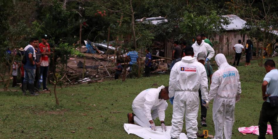 Acht mensen gedood door explosie in Dagua, Valle del Cauca