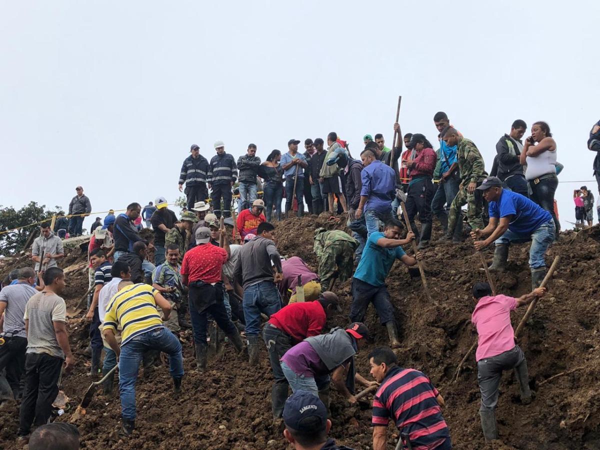 Minstens tien doden bij aardverschuiving in Cauca