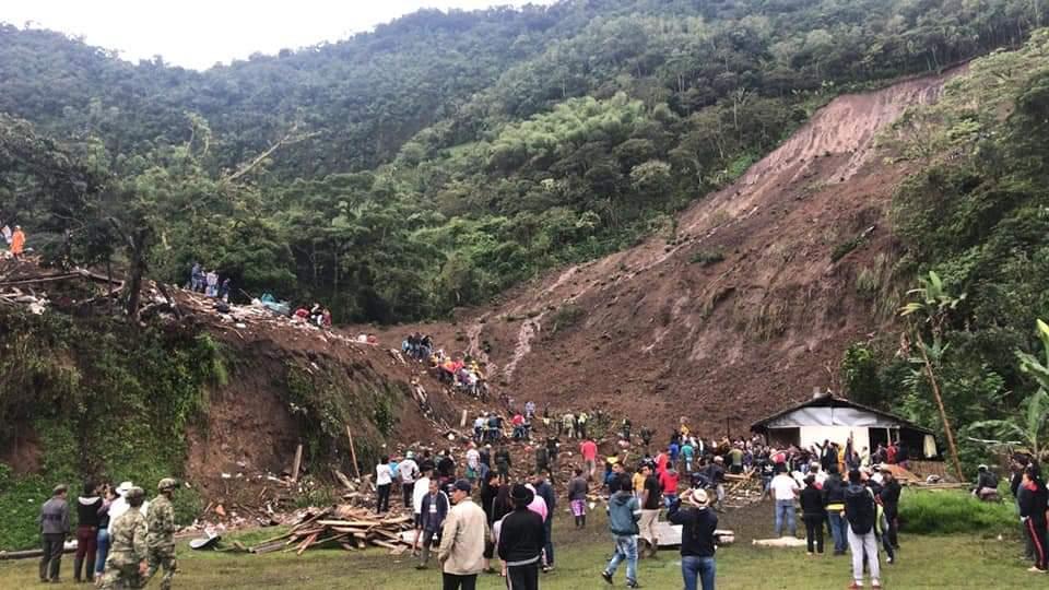 Dodental aardverschuiving in Cauca opgelopen tot negentien