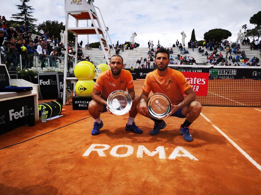Cabal en Farah winnen voor tweede keer het dubbelspel in Rome