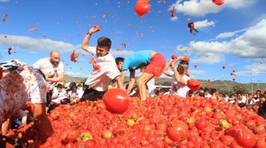 Tomatenoorlog in Sutamarchán