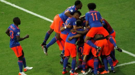 Colombia verslaat Argentinië op Copa América