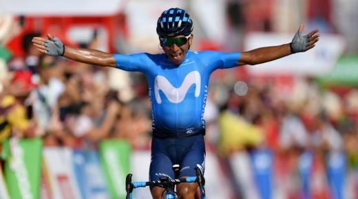 Nairo Quintana wint tweede etappe van de Ronde van Spanje