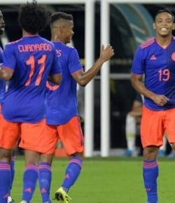 Colombia speelt gelijkspel tegen Brazilië in oefenduel