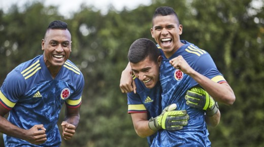 Het nieuwe uitshirt van Colombiaans elftal is bekend