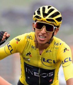 Egan Bernal neemt deel aan Tour Colombia 2.1