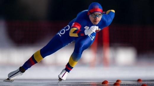 Historische schaatsmedaille voor Colombia op Jeugd Olympische Winterspelen