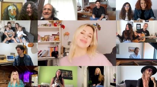 Colombiaanse artiesten zingen lied tegen corona