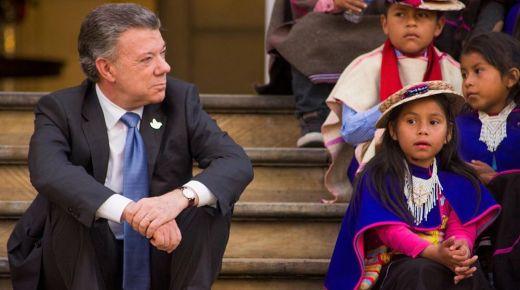 Voormalige president Juan Manuel Santos: 'Vredesakkoord veranderen zonder de FARC is onverstandig'
