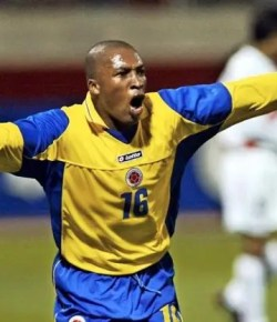 Colombiaanse ex-international Edwin Congo ontkent drugssmokkel