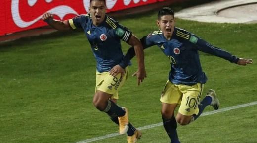 Falcao loodst Colombia naar gelijkspel tegen Chili