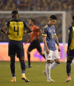 Colombia lijdt zware nederlaag tegen Ecuador