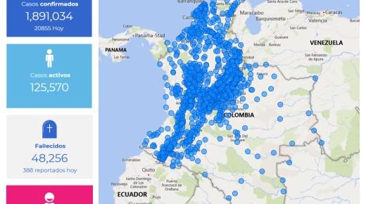 Coronacijfers van 16 januari: Colombia telt hoogste aantal besmettingen op een dag
