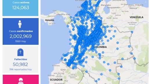 Coronacijfers van 23 januari: Colombia passeert de grens van 2 miljoen coronabesmettingen
