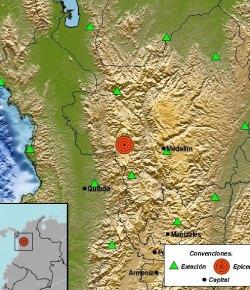 Inwoners Medellín opgeschrikt door aardbeving van 5.1