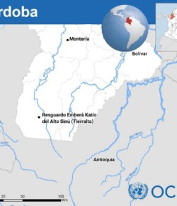 VN: bijna 2.000 mensen ontheemd door gevechten in Córdoba