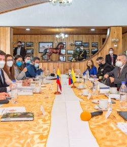 Colombia en Ecuador versterken samenwerking tegen de misdaad