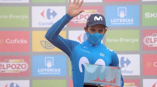 Miguel Ángel López wint achttiende etappe van de Vuelta