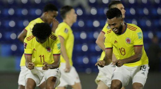 Colombia speelt gelijk tegen Paraguay in WK-kwalificatiewedstrijd