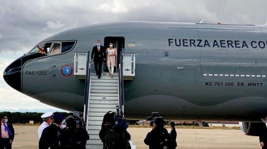 President Iván Duque brengt officieel bezoek aan Spanje