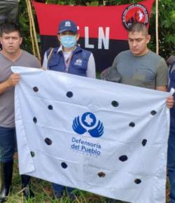 ELN heeft twee soldaten vrijgelaten in Arauca