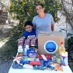 Familias en situación de vulnerabilidad en el Estado de Puebla recibieron ayudas alimentarias.