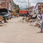 Desastre en La Virginia, Risaralda, por desbordamiento del río Risaralda. Mayo, 2021