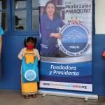 Entrega de útiles en Chiriquí