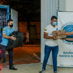 Alistamiento de ayudas para damnificados en La Vriginia, Risaralda. Junio 2021