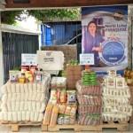 El Banco de Alimentos de Panamá entrega donación a la Fundación para beneficiar a 50 familias. Mayo 2021