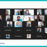 Primera clase de Emprendedores Sin Límites del grupo de personas con discapacidad física. Julio 2021