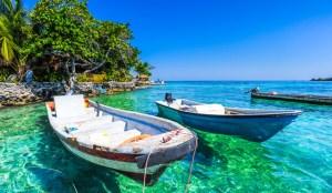 Caribische Zee rondom Colombia