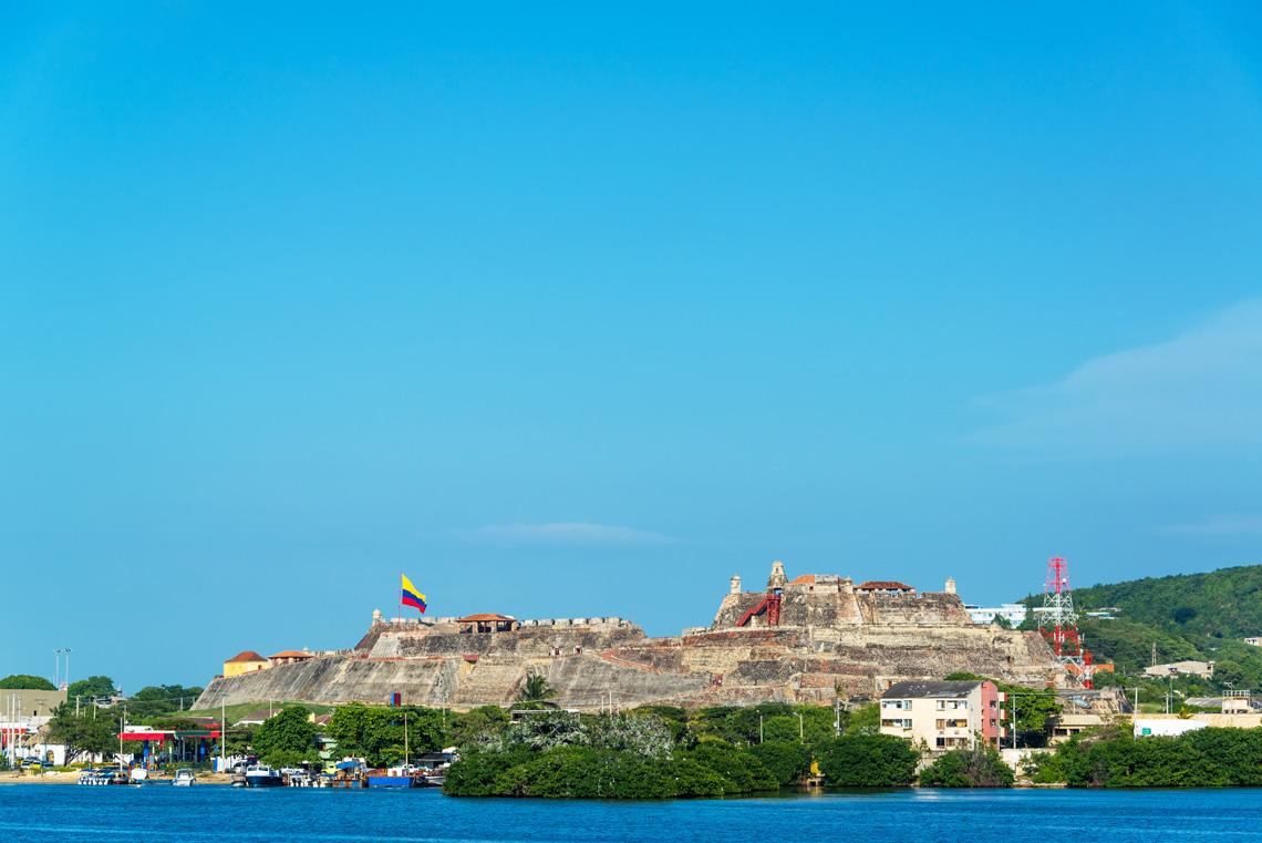 Castillo San Felipe de Barajas Cartagena