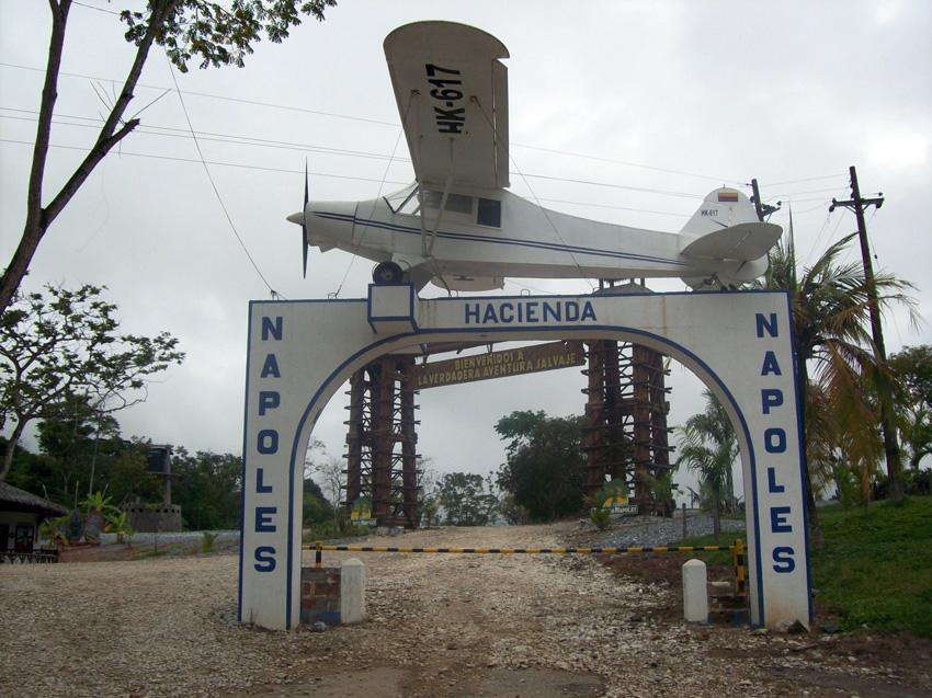 Hacienda Napoles het huis van Pablo Escobar
