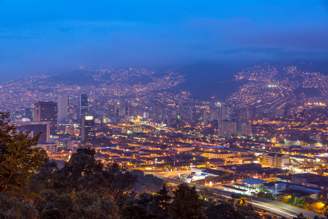 Skyline van Medellin