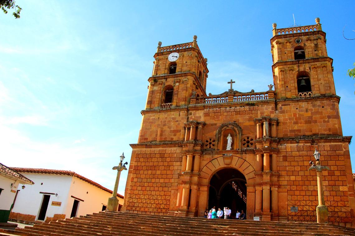 Kerkje San Gil Colombia