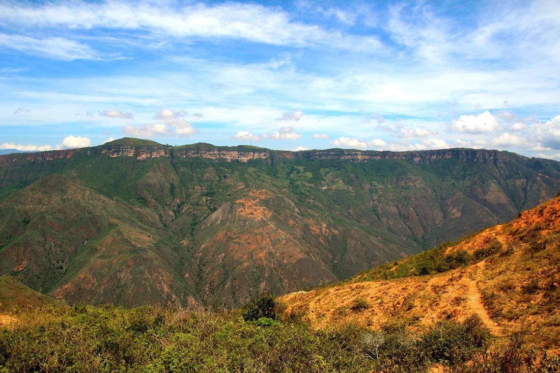 San Gil Colombia ravijn